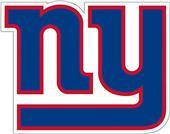 NFL New York Giants Auto Diecut Window Film