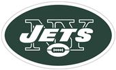 NFL New York Jets Auto Diecut Window Film