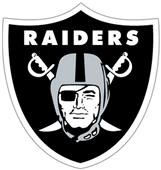 NFL Oakland Raiders Auto Diecut Window Film