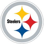 NFL Pittsburgh Steelers Auto Diecut Window Film