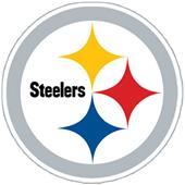 NFL Pittsburgh Steelers Auto Diecut Window Film
