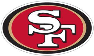 NFL San Francisco 49ers Auto Diecut Window Film