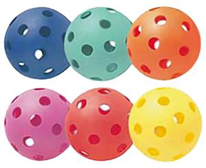 Champion Sports Plastic Softballs (Set of 6)