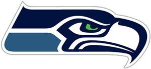 NFL Seattle Seahawks Auto Diecut Window Film