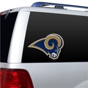 BSI NFL St. Louis Rams Auto Diecut Window Film