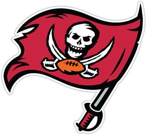 NFL Tampa Bay Buccaneers Auto Diecut Window Film