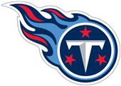 NFL Tennessee Titans Auto Diecut Window Film