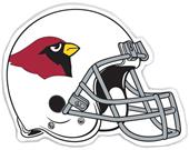 "NFL Arizona Cardinals 12"" Die Cut Car Magnet"