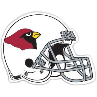 "NFL Arizona Cardinals 12"" Die Cut Car Magnet"