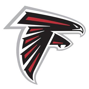 "NFL Atlanta Falcons Logo 12"" Die Cut Car Magnet"