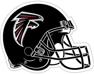 "NFL Atlanta Falcons 12"" Die Cut Car Magnet"