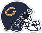"NFL Chicago Bears 12"" Die Cut Car Magnet"