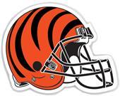 "NFL Cincinnati Bengals 12"" Die Cut Car Magnet"
