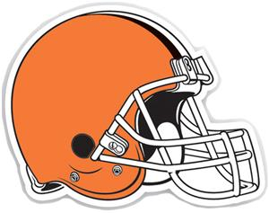 "NFL Cleveland Browns 12"" Die Cut Car Magnet"