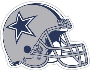 "NFL Dallas Cowboys 12"" Die Cut Car Magnet"