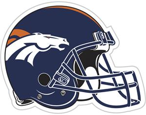 "NFL Denver Broncos 12"" Die Cut Car Magnet"