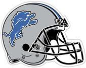 """NFL Detroit Lions 12"""" Die Cut Car Magnet"""