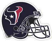 "NFL Houston Texans 12"" Die Cut Car Magnet"