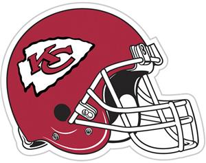 NFL Kansas City Chiefs 12&quot; Die Cut Car Magnet