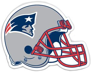 "NFL New England Patriots 12"" Die Cut Car Magnet"