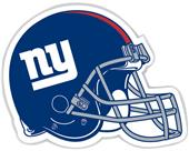 "NFL New York Giants 12"" Die Cut Car Magnet"