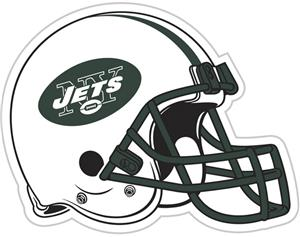 "NFL New York Jets 12"" Die Cut Car Magnet"