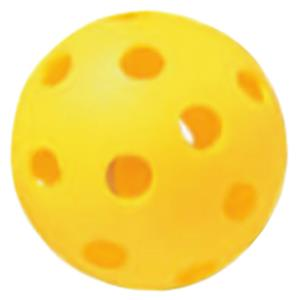 Champion Yellow Plastic Baseballs (DOZEN)