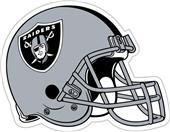 "BSI NFL Oakland Raiders 12"" Vinyl Car Magnet"