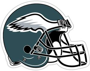 "NFL Philadelphia Eagles 12"" Die Cut Car Magnet"