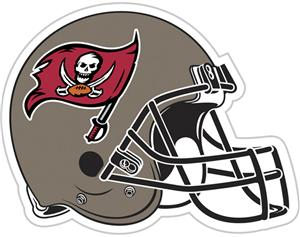 "NFL Tampa Bay Buccaneers 12"" Die Cut Car Magnet"