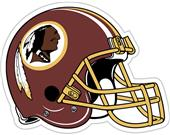 "NFL Washington Redskins 12"" Die Cut Car Magnet"