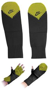 NIKE Metro Series Fingerless Glove/Mitten Green