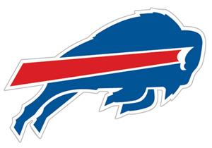 "NFL Buffalo Bills Logo 12"" Die Cut Car Magnet"