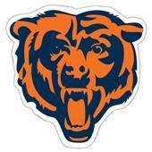 "NFL Chicago Bears Logo 12"" Die Cut Car Magnet"