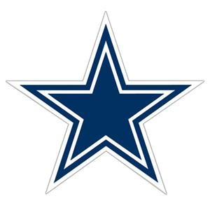 "NFL Dallas Cowboys Logo 12"" Die Cut Car Magnet"