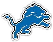 """NFL Detroit Lions Logo 12"""" Die Cut Car Magnet"""