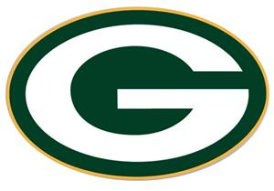 "NFL Green Bay Packers Logo 12"" Die Cut Car Magnet"