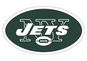 "NFL New York Jets Logo 12"" Die Cut Car Magnet"