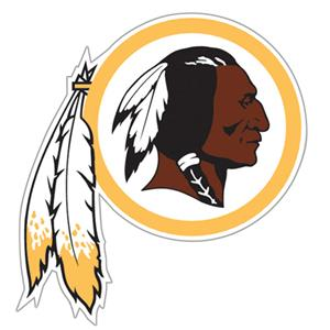 "NFL Washington Redskin Logo 12"" Die Cut Car Magnet"