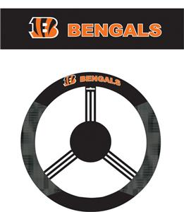 NFL Cincinnati Bengals Steering Wheel Cover