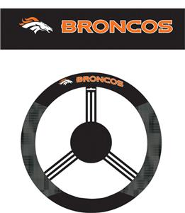 NFL Denver Broncos Steering Wheel Cover