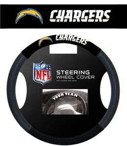 NFL San Diego Chargers Steering Wheel Cover