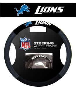 NFL Detroit Lions Steering Wheel Cover