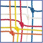 Champion Off. 3mm Soccer Goal Net 24'x8'x4'x10'
