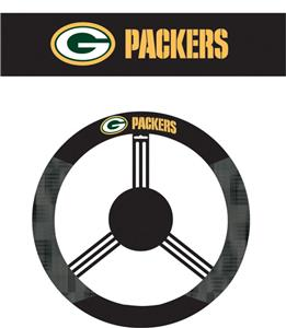 NFL Green Bay Packers Steering Wheel Cover