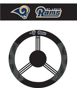 NFL St. Louis Rams Steering Wheel Cover