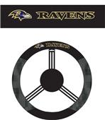 NFL Baltimore Ravens Steering Wheel Cover