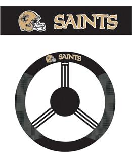 NFL New Orleans Saints Steering Wheel Cover