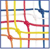 Champion Off. 4mm Soccer Goal Nets 24'x8'x4'x10'