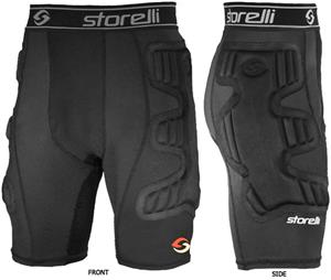 Storelli BodyShield Ultimate Soccer GK Shorts C/O
